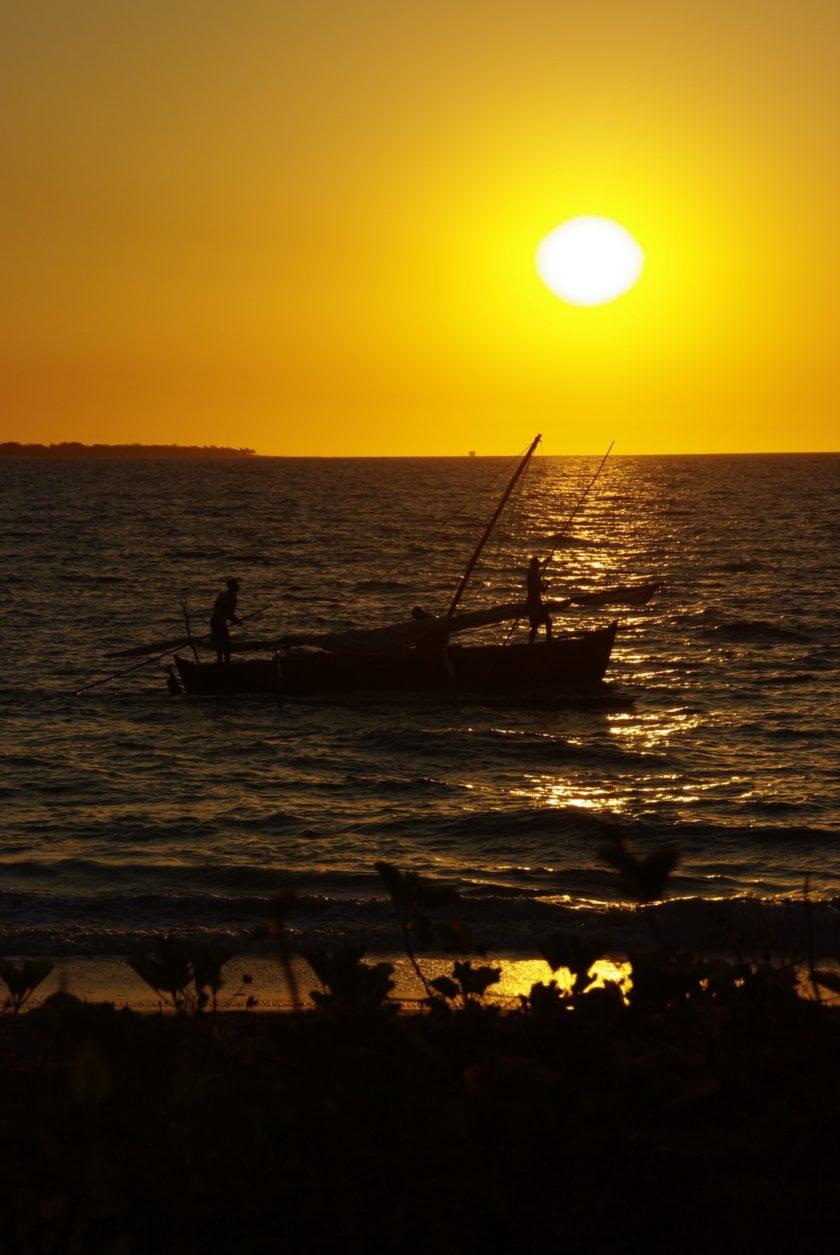 En Kayak à Madagascar au contact direct des poissons